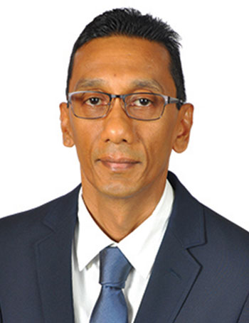 Adrian Ramkissoon District Manager CCU Director Island Finance