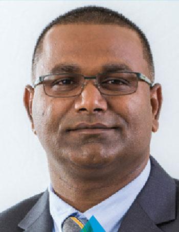 Anil Ramnarine Chief Executive Officer