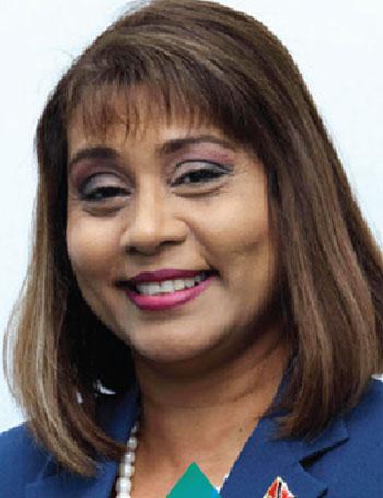 Anisa Allaham Hosein Manager Human Resources