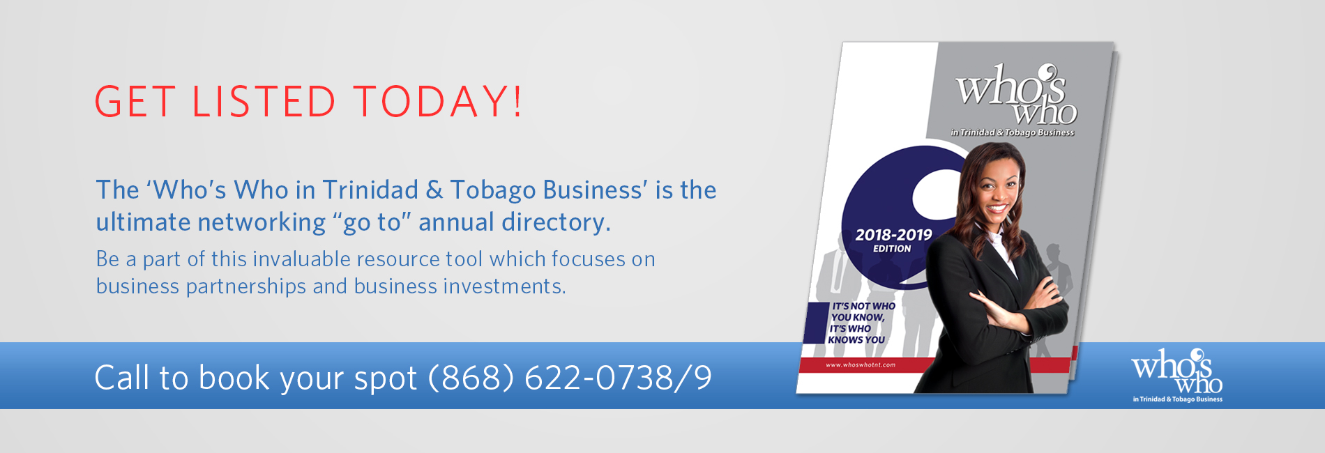 Get listed in Trinidad Business Directory