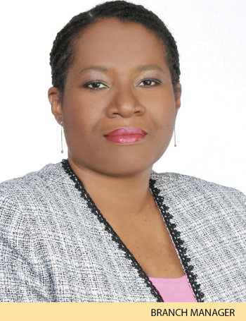 Nadine Rowe-Murray - Branch Manager - Barataria