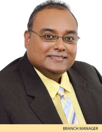 Naindranath Ramdass - Branch Manager - Sangre Grande