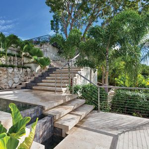 Sanzaru Villa Sandy Lane- Steps
