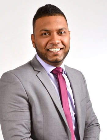 Arjay Ramlal Manager Sales