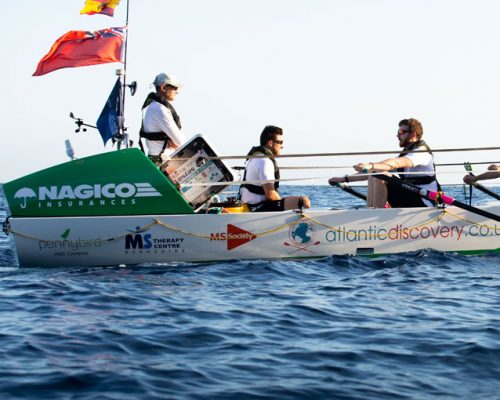 NAGICO Group-sponsored rowing team begins 3,000 mile row across Atlantic Ocean