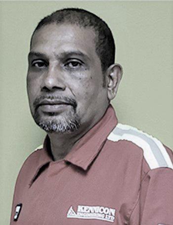 Terrence Mohamed Senior Estimator